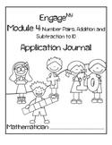 Kindergarten Eureka Math (Engage NY) Module 4 Application Journal