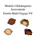 Kindergarten Module 4 Math Assessments Engage NY / Eureka Math