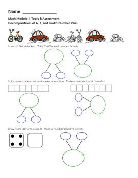 Kindergarten Module 4 Math Assessments Engage NY / Eureka ...