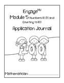 Kindergarten Eureka Math (Engage NY) Module 5 Application Journal