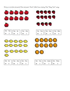 Kindergarten Module 5 Math Assessments Engage NY / Eureka Math