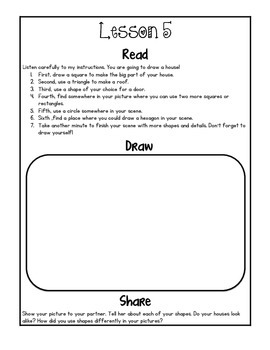 Kindergarten Module 6 Application Journal