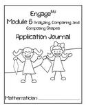 Kindergarten Eureka Math (Engage NY) Module 6 Application Journal