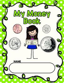 Kindergarten Money Book