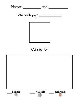 Kindergarten Money - Buying Fruit with Coins