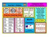 Kindergarten K-3 Money Centers Penny Nickel Dime Quarter C