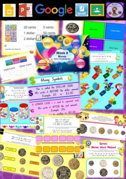 Kindergarten Money Smart Notebook and Unit of Work Bundle 2