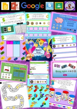Kindergarten Money Smart Notebook and Unit of Work Bundle 3