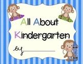 Kindergarten Monkey Portfolio