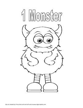 Kindergarten Monster Math