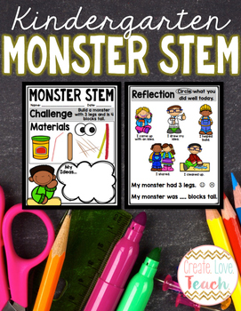 Kindergarten Monster STEM
