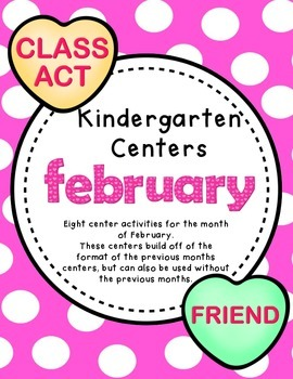 Kindergarten Centers - February
