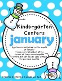 Kindergarten Centers - January