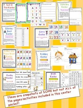 Kindergarten Centers - October