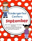 Kindergarten Centers - September