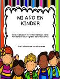 Kindergarten Monthly Informal Assessment - Spanish Version