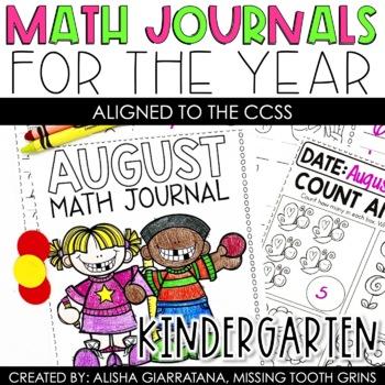 Math Journal BUNDLE (Kindergarten)