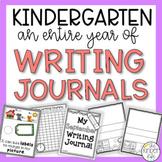 Kindergarten Writing Journal BUNDLE Distance Learning
