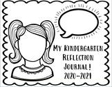 Kindergarten Monthly Reflection Journals!!