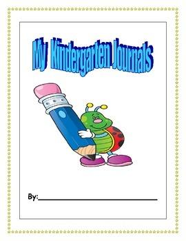 Kindergarten Monthly Writing Journals