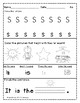 Kindergarten Morning Work /Brain Busters- Bell Ringers / Math & ELA October