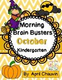 Kindergarten Morning Brain Busters- Bell Ringers / Morning