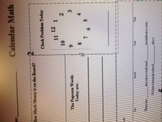Kindergarten Morning  Calendar Math