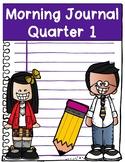 Kindergarten Morning Journal ALL Year Long
