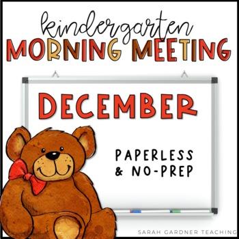 Kindergarten Morning Meeting - December