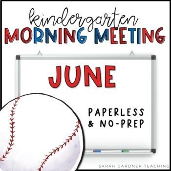 Kindergarten Morning Meeting - June