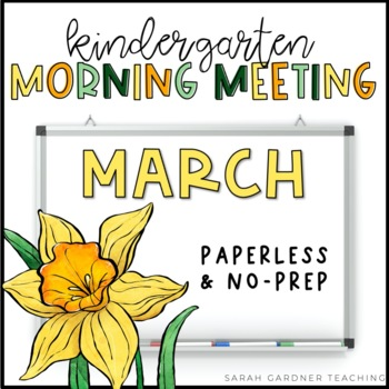Kindergarten Morning Meeting - March