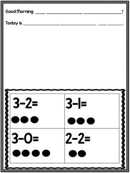 Kindergarten Morning Messages!  200 Customizable Morning Messages!