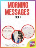 Morning Messages: Set 1