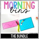 Kindergarten Morning Tubs (The Bundle)