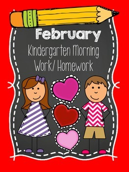 Kindergarten Morning Wok - February