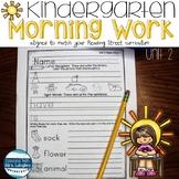 Kindergarten Morning Work Unit 2