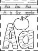 Kindergarten Morning Work-130 Literacy Worksheets