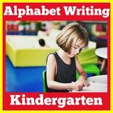 Alphabet Writing   Preschool Kindergarten 1st Grade   Alph