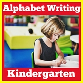 Kindergarten Alphabet Writing Worksheets