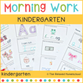 Kindergarten Morning Work