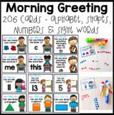 Kindergarten Morning Work, A Greeting / Meeting Activity