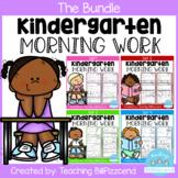 Kindergarten Morning Work All Year (The Bundle)