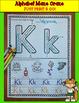 Kindergarten Morning Work: Alphabet Maze Craze  (No Prep..
