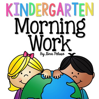Kindergarten Morning Work: April