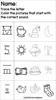Kindergarten Morning Work Based on Journeys Sequence