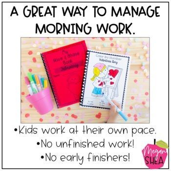 Kindergarten Morning Work Book February