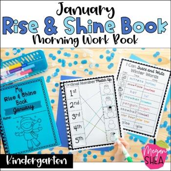 Kindergarten Morning Work Book January