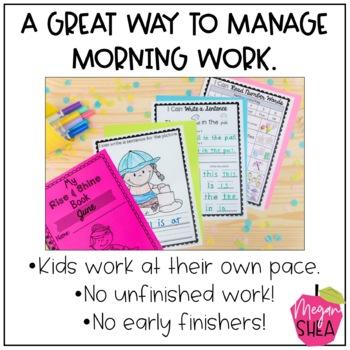 Kindergarten Morning Work Book June