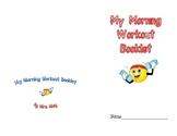 Kindergarten Morning Work Booklet