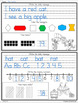 Kindergarten Morning Work Entire Year (Spiral Math and Writing)